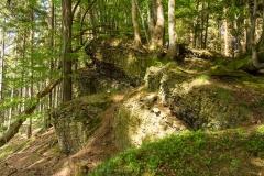 Felsformation = Lengenbecker Alpen