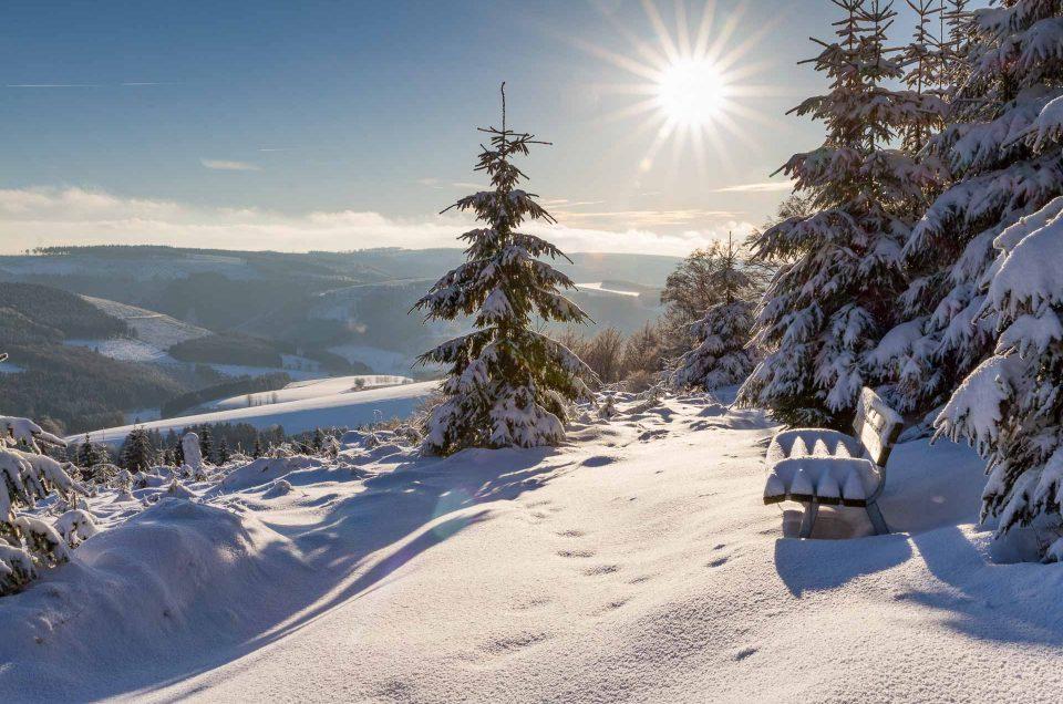 Märchenhafte Winterwanderung