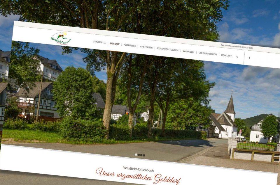 Relaunch Westfeld-Ohlenbach.de