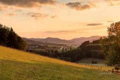 Sonnenuntergang Almert