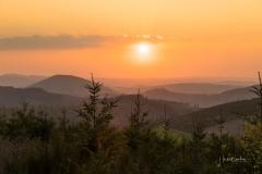 Sonnenuntergang Antonussteig 1