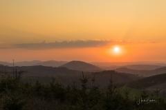 Sonnenuntergang Antonussteig 2