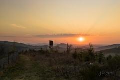 Sonnenuntergang Antonussteig 3