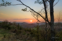 Sonnenuntergang Antonussteig 4