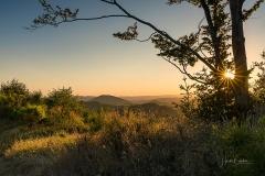 Sonnenuntergang im Lennetal 3