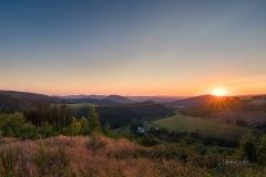 Sonnenuntergang im Lennetal 6