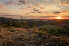 Sonnenuntergang im Lennetal 2