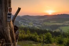Sonnenuntergang am Hömberg 2