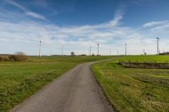 Windkraftanlagen bei Alme 1