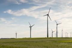 Windkraftanlagen bei Alme 4