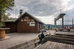 SGV-Hütte oberhalb des Biggesees