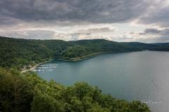 Aussicht vom Biggeblick auf den See 1