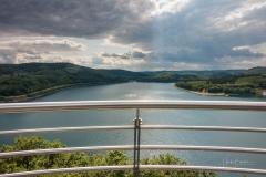 Aussicht vom Biggeblick auf den See 3