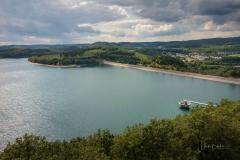 Aussicht vom Biggeblick auf den See 4