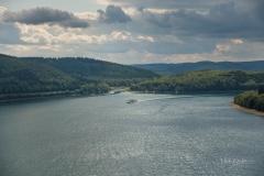 Aussicht vom Biggeblick auf den See 7
