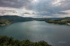 Aussicht vom Biggeblick auf den See 8