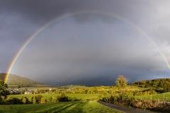 Regenbogen über Grafschaft 1