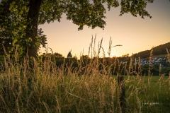 Sonnenuntergang in Grafschaft