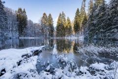 Winter am Mühlenteich 02