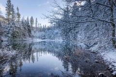 Winter am Mühlenteich 04