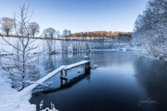 Winter am Mühlenteich 08