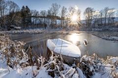 Winter am Mühlenteich 11