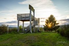 Stuhl mit Aussichtsplattform am Sauerland Höhenflug 5