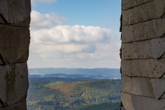 """Aussicht vom Turm """"Hohe Bracht"""""""