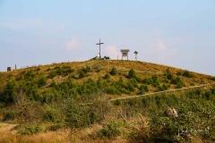 Clemensberg in Niedersfeld mit Gipfelkreuz