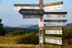 Wegweiser in der Niedersfelder Hochheide