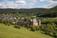 Blick auf Schloss Adolphsburg