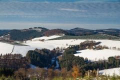 Aussicht vom Kahler Asten-Steig