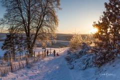 Schwedensteig im Winter