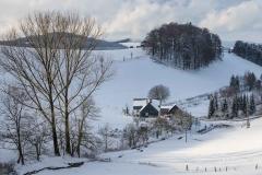 Oberhenneborn im Winter 56
