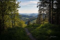 Aussicht von der Knochenspitze im Frühjahr 2021 - 1