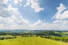 Aussicht vom Sauerland Höhenflug in Altenilpe