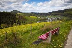 Aussicht vom Lingelscheid bei Oberkirchen 1