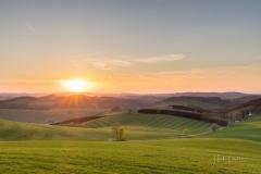 Sonnenuntergang-Oberhenneborn
