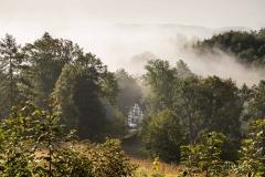 Hoheleyer Graberhof im Dunst