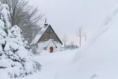 Schmallenberg-Schanze im Winter 6