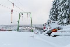 Schmallenberg-Schanze im Winter 3