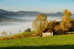 Schmallenberg unter einer Nebeldecke 1