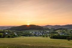 Sonnenuntergang über Sellinghausen 1