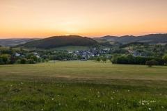 Sonnenuntergang über Sellinghausen 2