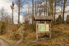 Wanderparkplatz am Rothaarsteig