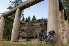 Waldskulpturenweg - Stein-Zeit-Mensch 4