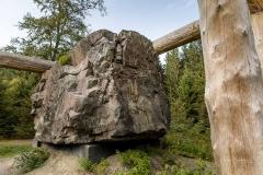 Waldskulpturenweg - Stein-Zeit-Mensch 5