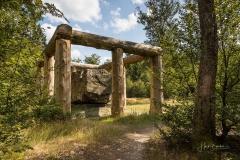 Waldskulpturenweg - Stein-Zeit-Mensch 1