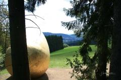 Am Truftehain in Bad Berleburg: Was war zuerst? Aufnahme von 2009 2