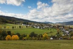 Aussicht vom Waldskulpturenweg auf Grafschaft 3